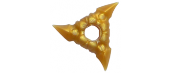 Lego Weapon Throwing Star Shuriken with Textured Grips 19807A